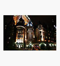 Fairmont Chateau Frontenac Photographic Print