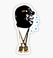 Biggie Chain Necklace Notorious BIG Brooklyn Hip Hop 90s T-Shirt Sticker