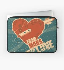 From Mars with love Laptop Sleeve