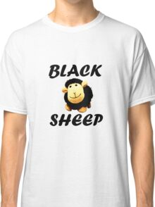 Black Sheep Words Classic T-Shirt