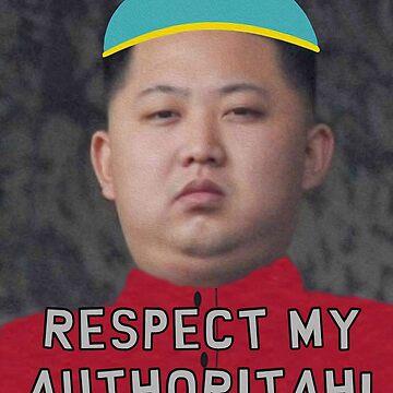 Kim Jong Un- Cartman by MareFoxyQawz