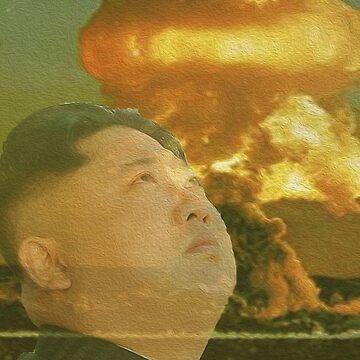 Kim Jong Un- Nuclear Sunset by MareFoxyQawz