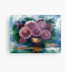 Just For You Pink Toned Roses Metal Print