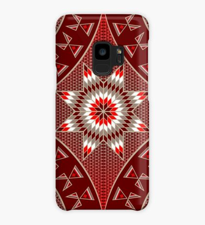Morning Star with Tipi's (Red) Case/Skin for Samsung Galaxy