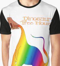 Yawnosaurus lifts Tree House, The Book of Yawns, Adventure 8 Graphic T-Shirt