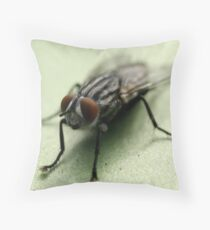 Happy To Be A Fly Throw Pillow