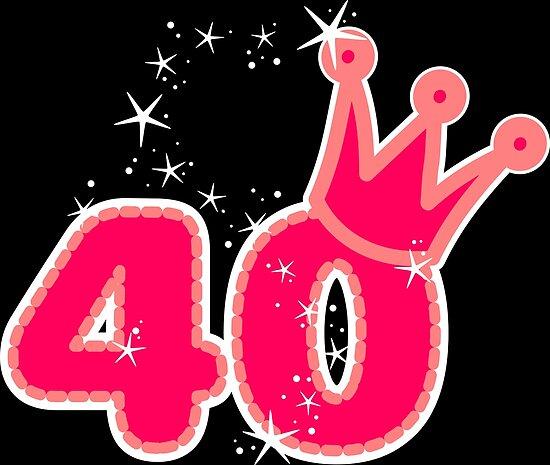 40th Birthday Girl Gift Ideas Princess Style Stars By Xsylx