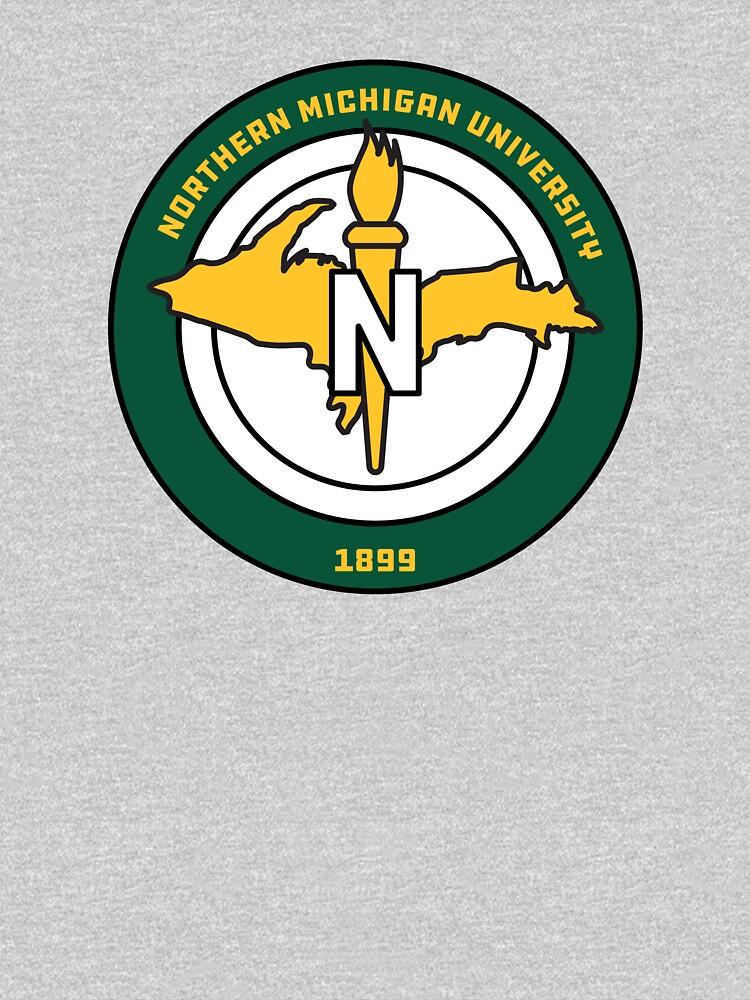 Northern Michigan Universität / NMU Emblem von katelinhealey