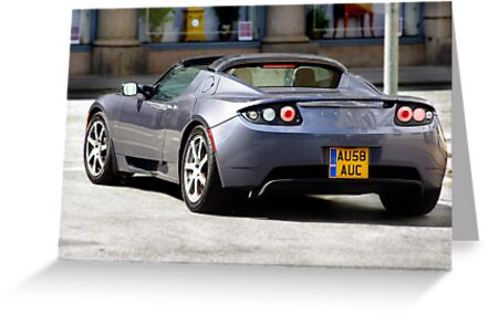 Topless Tesla by bygeorge