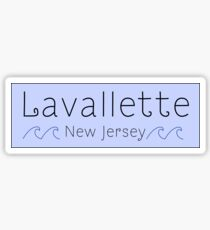 Lavallette New Jersey Sticker