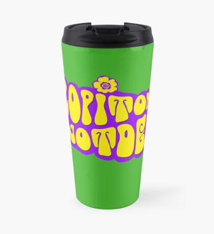 Logo HIPPIE SCOP' Mug de voyage