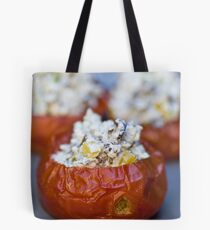 Baked Tomatoes With Mediterranean Ricotta Filling Tote Bag