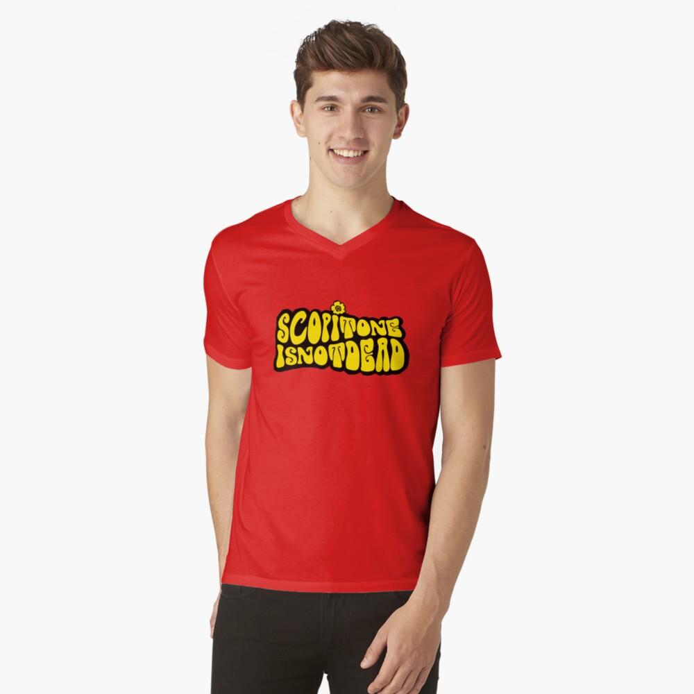 T-shirt col V «Logo HIPPIE SCOP' II»