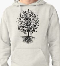 Musical Instruments Tree Pullover Hoodie