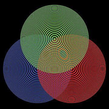 Concentric RGB by suranyami