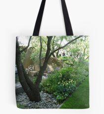 An English Garden Design Tote Bag