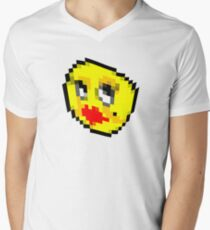 Emoji's can't be reasoned with.  Men's V-Neck T-Shirt