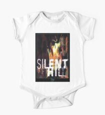 Silent Hill 1 Old Version Box Cover Art One Piece - Short Sleeve