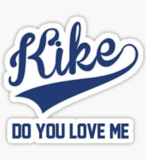 Kike Hernandez Dodgers Drake In My Feelings Mashup Sticker