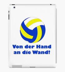 """""""From the hand to the wall"""" Gift idea Limited Edition iPad Case/Skin"""