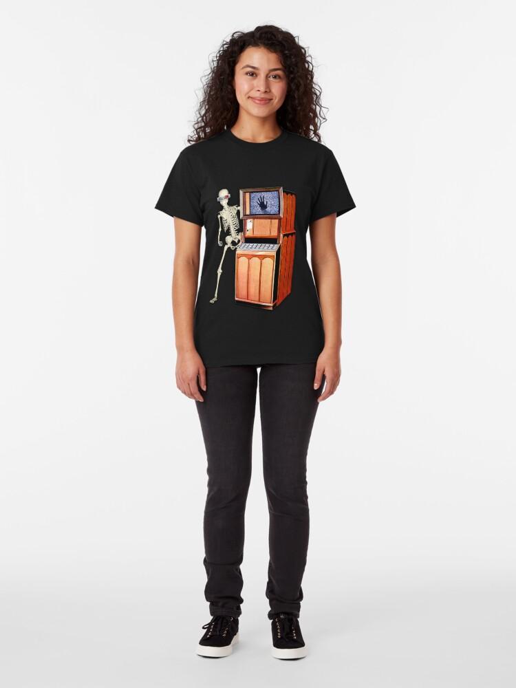 T-shirt classique ''SQUELETTE SCOP'': autre vue