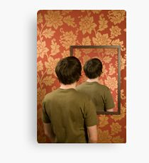 Magritte Mirror Canvas Print