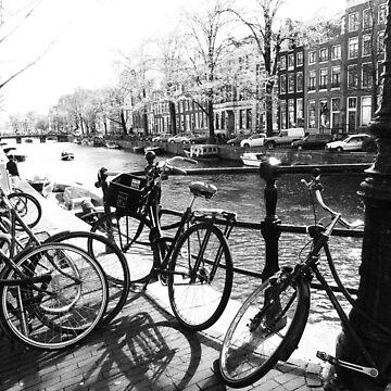 Amsterdam - bikes by benwallace13