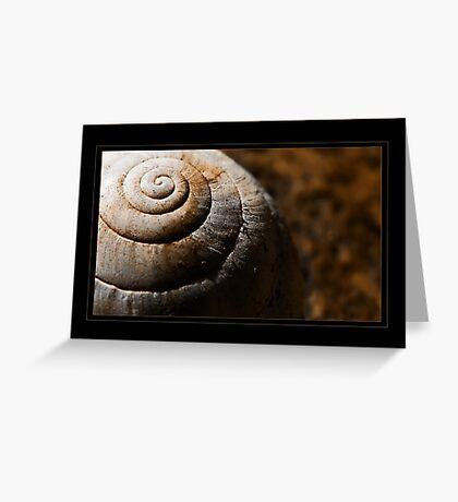 L'armure de l'escargot Greeting Card