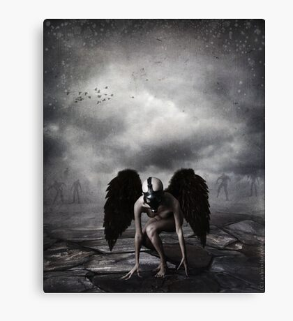 The Dark Angel Canvas Print