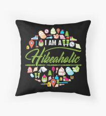 I Am A Hikeaholic - Hiking Nature Wanderlust forest Throw Pillow