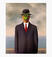 Renee Magritte son of man art shirt Photographic Print