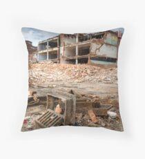Urban Exploration Throw Pillow