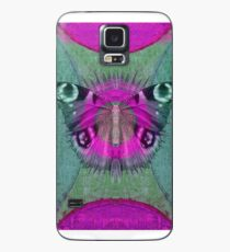 Mystic Wings - Purple and Green Case/Skin for Samsung Galaxy