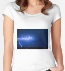 Christmas Eve Storm 2011 Women's Fitted Scoop T-Shirt