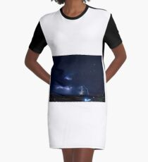 Christmas Eve Storm 2011 Graphic T-Shirt Dress