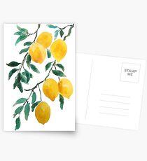 yellow lemon 2018 Postcards