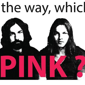 Pink Floyd - Which one's Pink? [Black Font] by ashikshrestha