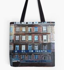 Hotel in Lille, Sunday Morning Tote Bag