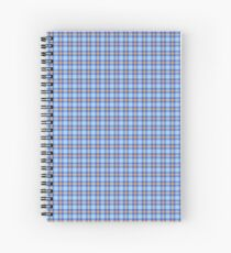 Custom melon Tartan design Spiral Notebook