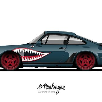 930 Turbo Shark Teeth edition by OlegMarkaryan