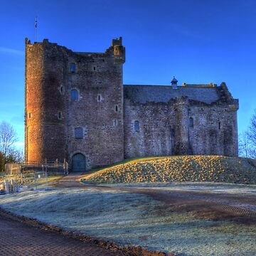 Doune Castle , Scotland by goldyart