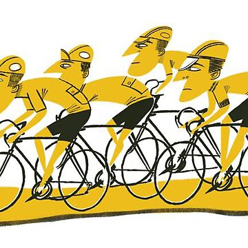 Tour De France - Bike Riders Cycling Design by LoVckiee