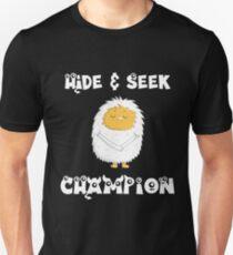 Yeti Hide and Seek Unisex T-Shirt