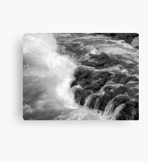 Worth Matravers B&W Canvas Print
