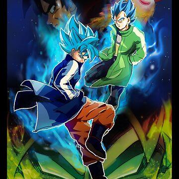 Dragon Ball Super God Blue by nathdesign