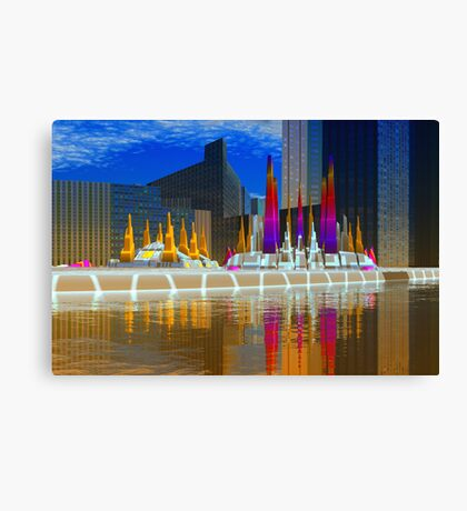 Monuments to War Canvas Print