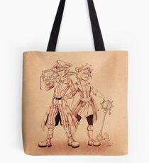 Pirates - Sora & Kairi Tote Bag