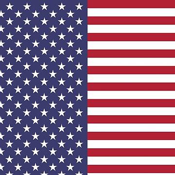 USA Flag Leggings - US American Tights Polainas by deanworld