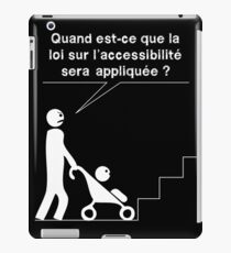 Accessible - Stroller iPad Case/Skin