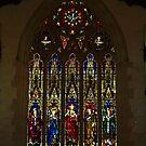 Sacred Heart Cathedral, Bendigo - Leadlight Window by Bev Pascoe